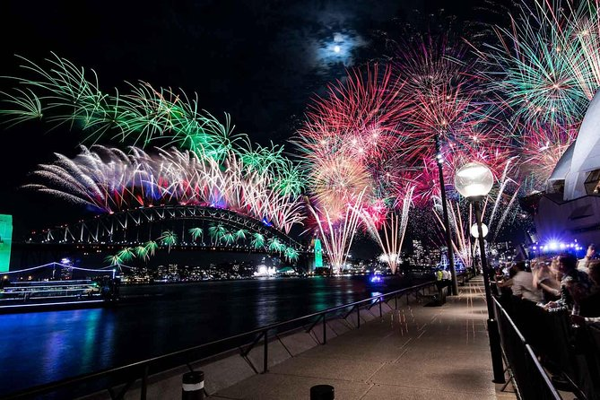 New Year's Eve under the Sydney Opera House Sails on Sydney Harbour - Attractions Perth