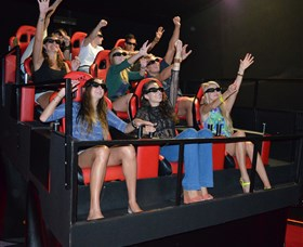 7D Cinema - Virtual Reality - Attractions Perth