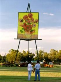Van Gogh Sunflower Painting - Attractions Perth