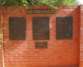 John OBrien Commemorative Wall - Attractions Perth