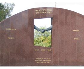 Cowra Italy Friendship Monument - Attractions Perth
