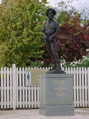 Alexander Cameron Statue - Attractions Perth