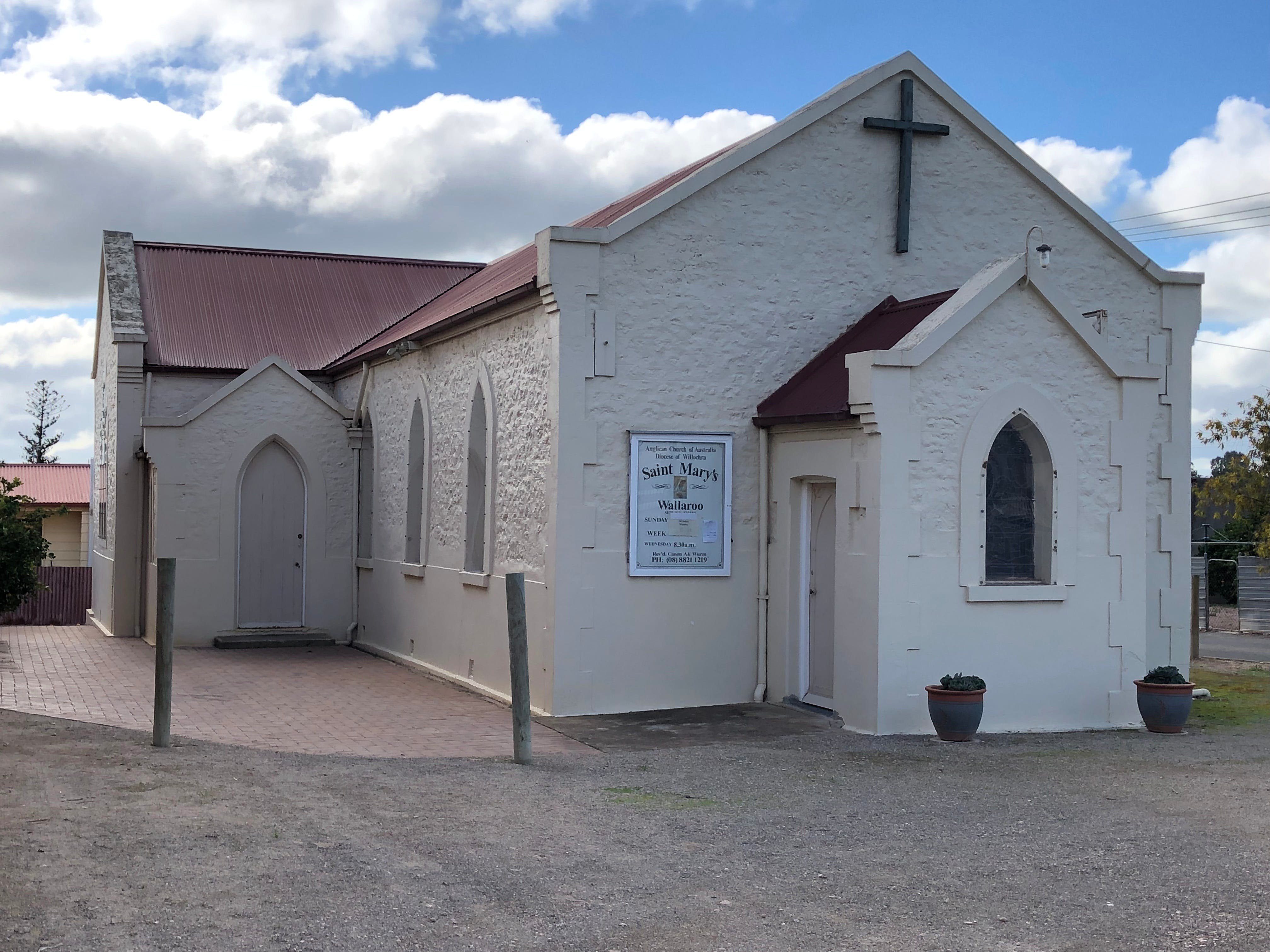 St Mary's Anglican Church Wallaroo - Attractions Perth