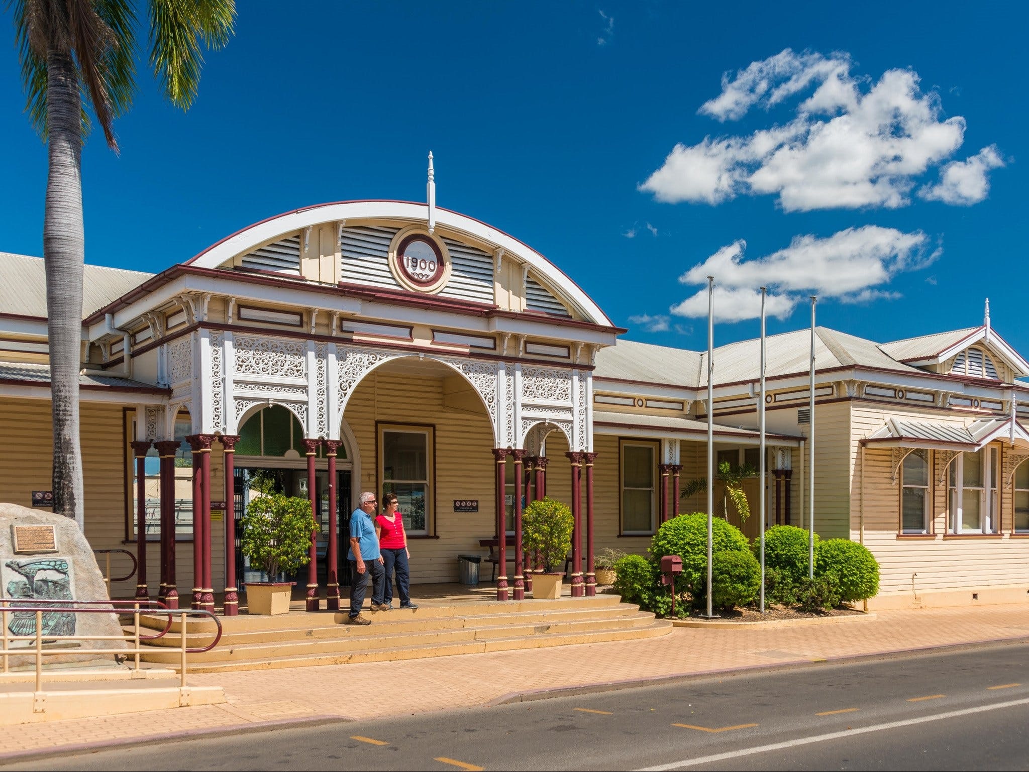 Emerald Historic Railway Station - Attractions Perth