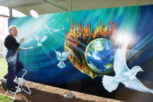 Mural Park - Attractions Perth